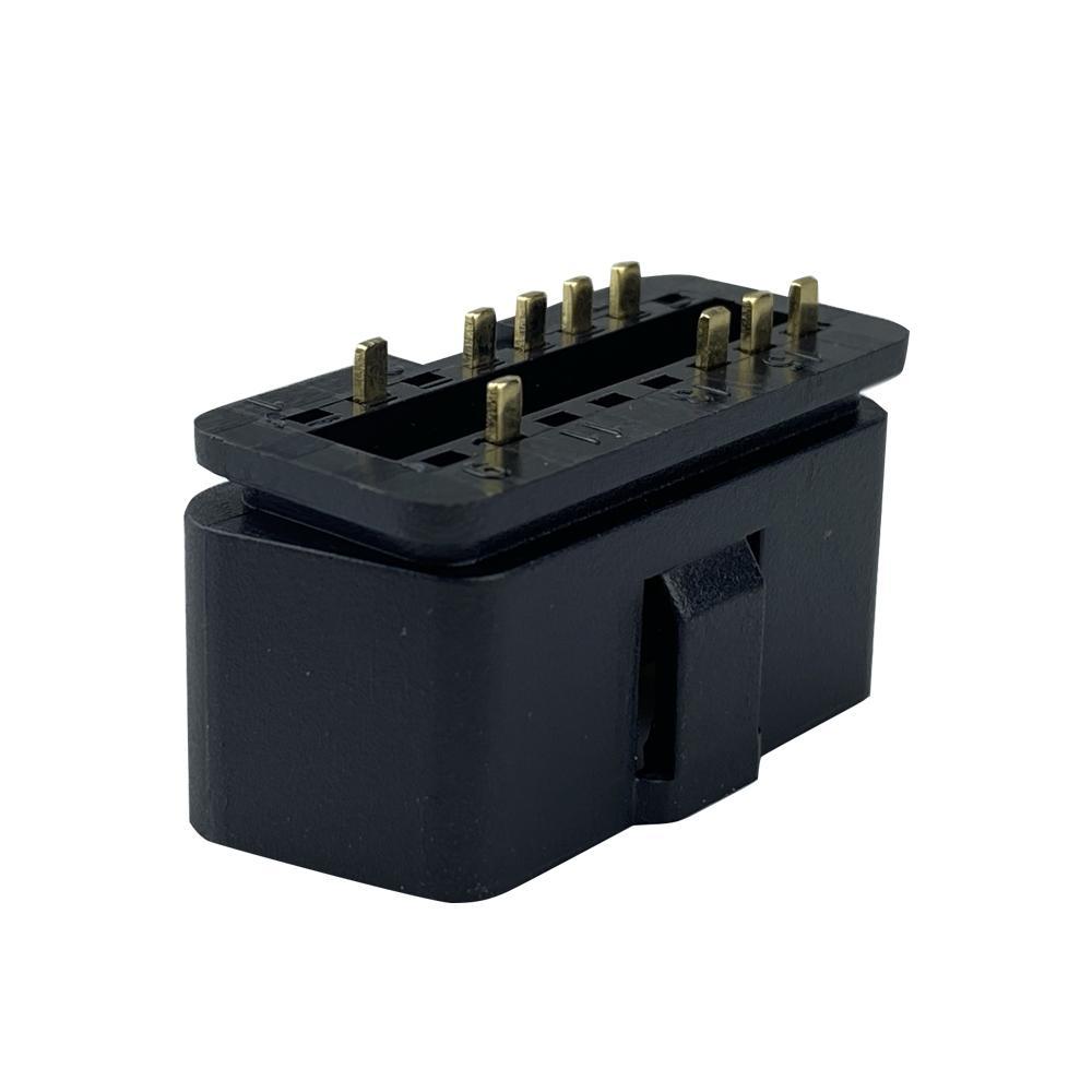 16針公頭連接器OBDII 12V 24V卡車診斷接口插頭 2