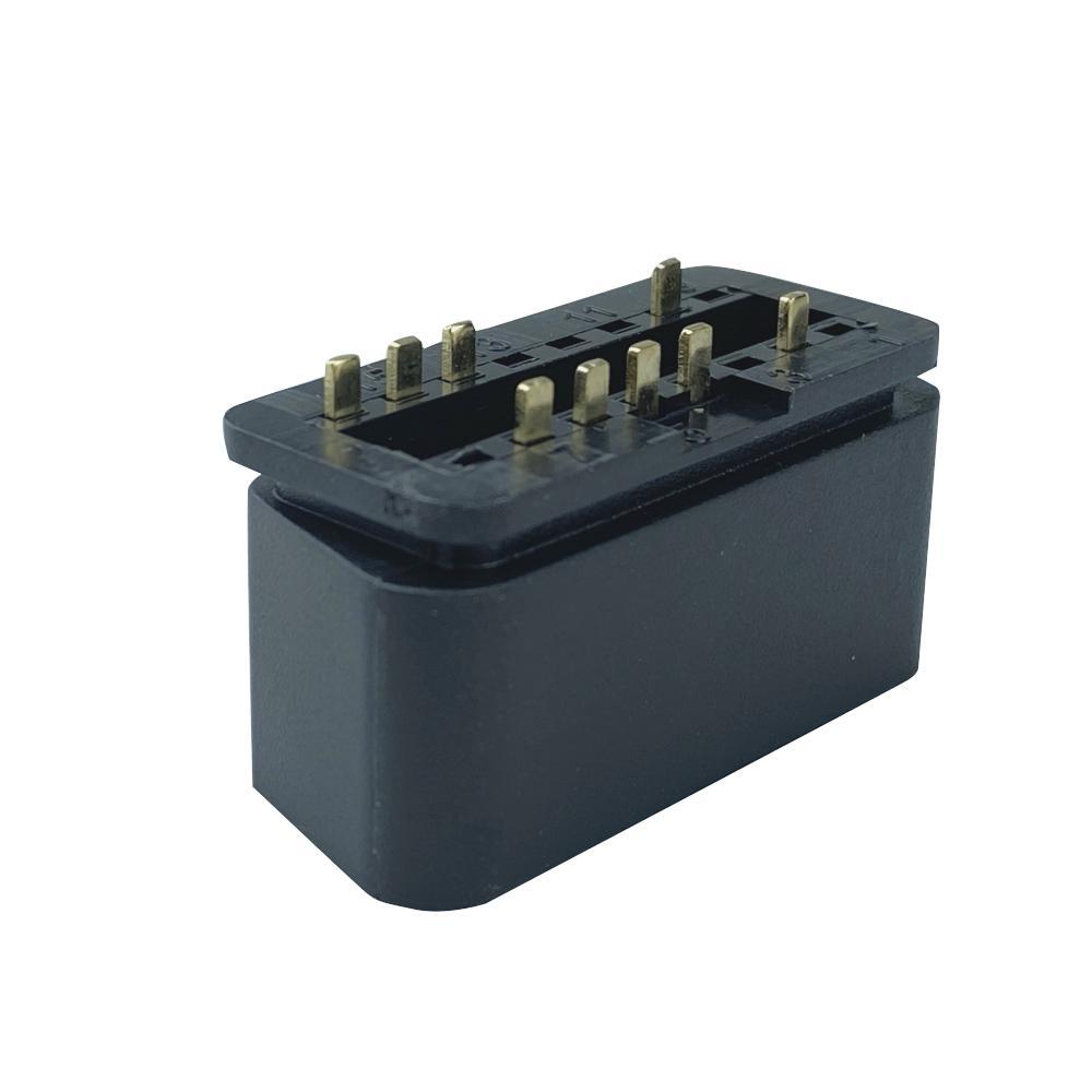16針公頭連接器OBDII 12V 24V卡車診斷接口插頭 6