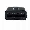 Plug of OBDII 16 pin automobile fault diagnosis instrument
