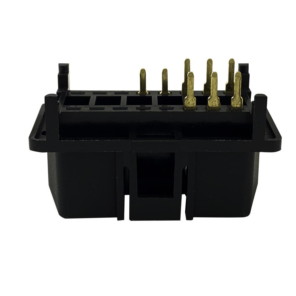6PIN連接器公頭J1962 汽車線束連接線插頭 1