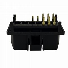 6PIN连接器公头J1962 汽车线束连接线插头