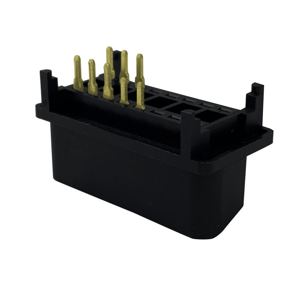 6PIN連接器公頭J1962 汽車線束連接線插頭 2