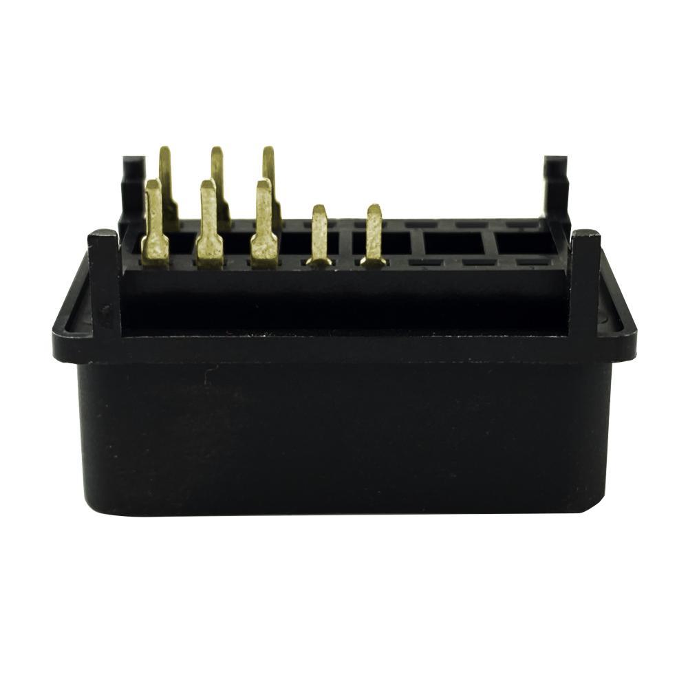 6PIN連接器公頭J1962 汽車線束連接線插頭 3