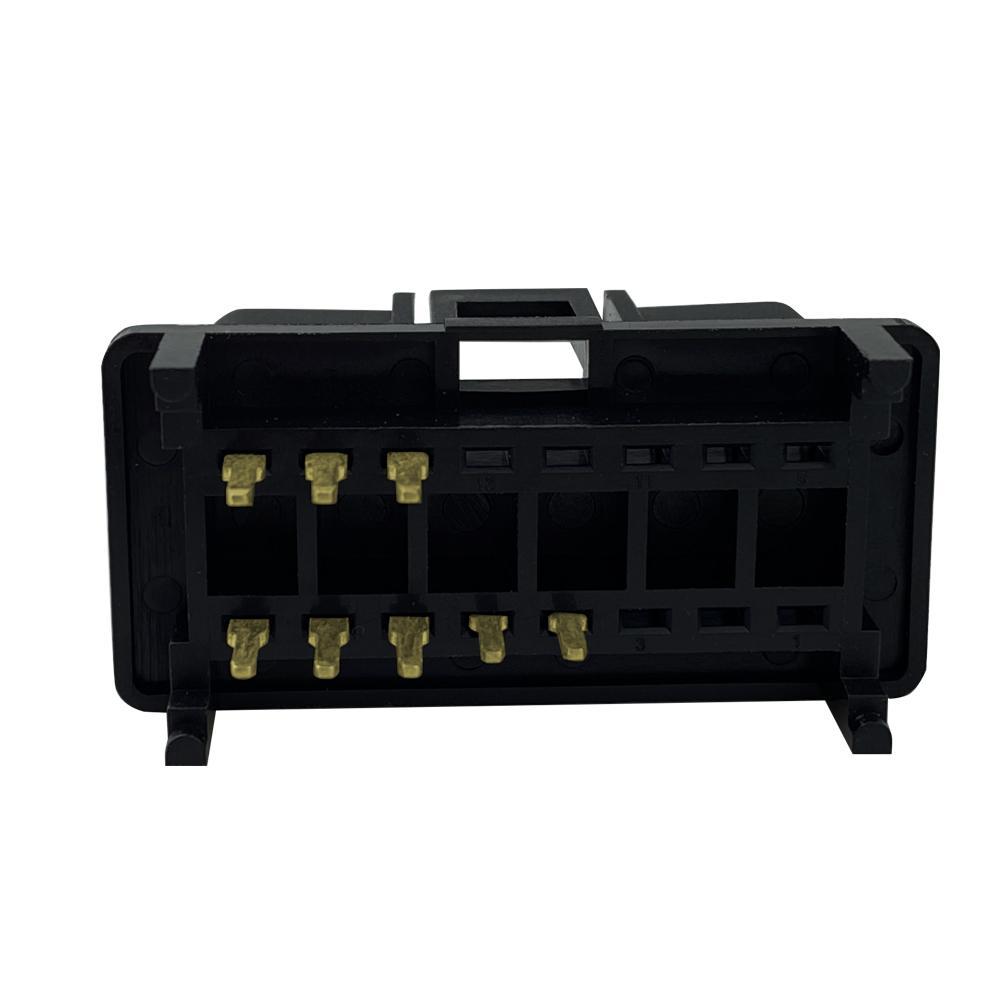 6PIN連接器公頭J1962 汽車線束連接線插頭 5
