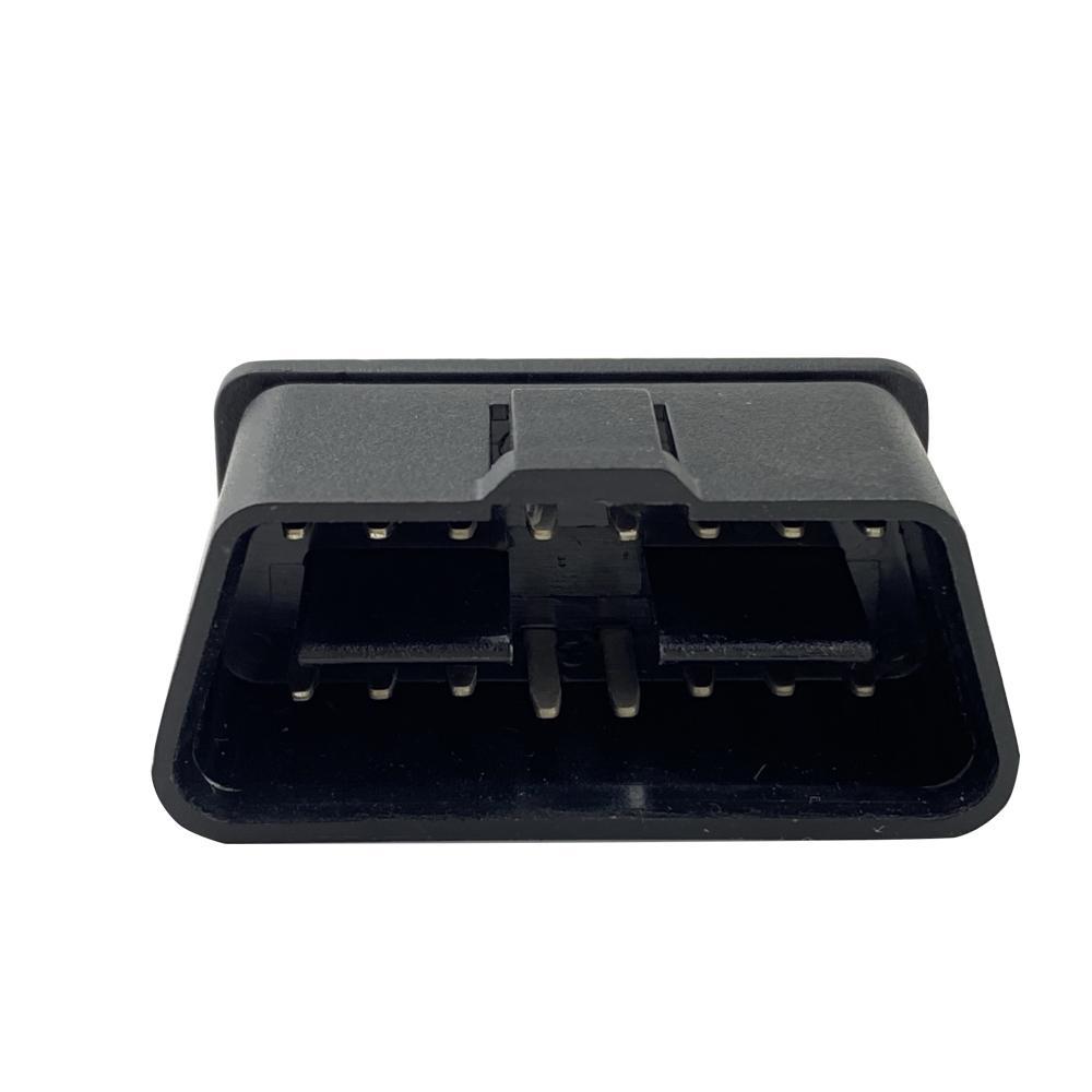OBDII 16P 公頭12V直針 汽車診斷線汽車轉接線插頭 1