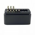 OBD2 male 90 ° plug 16 pin plug for automobile fault diagnosis instrument