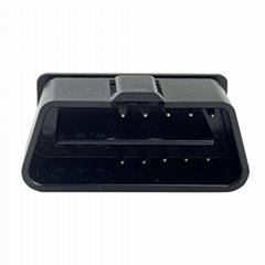 汽車OBDii10PIN連接器公頭診斷線接頭