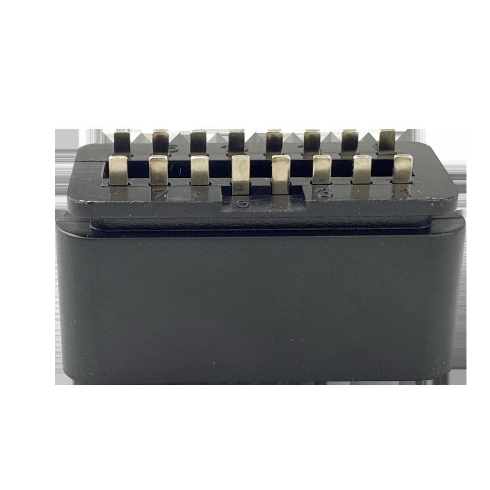 OBD2 16PIN汽車公頭連接線轉接線插頭接口 4