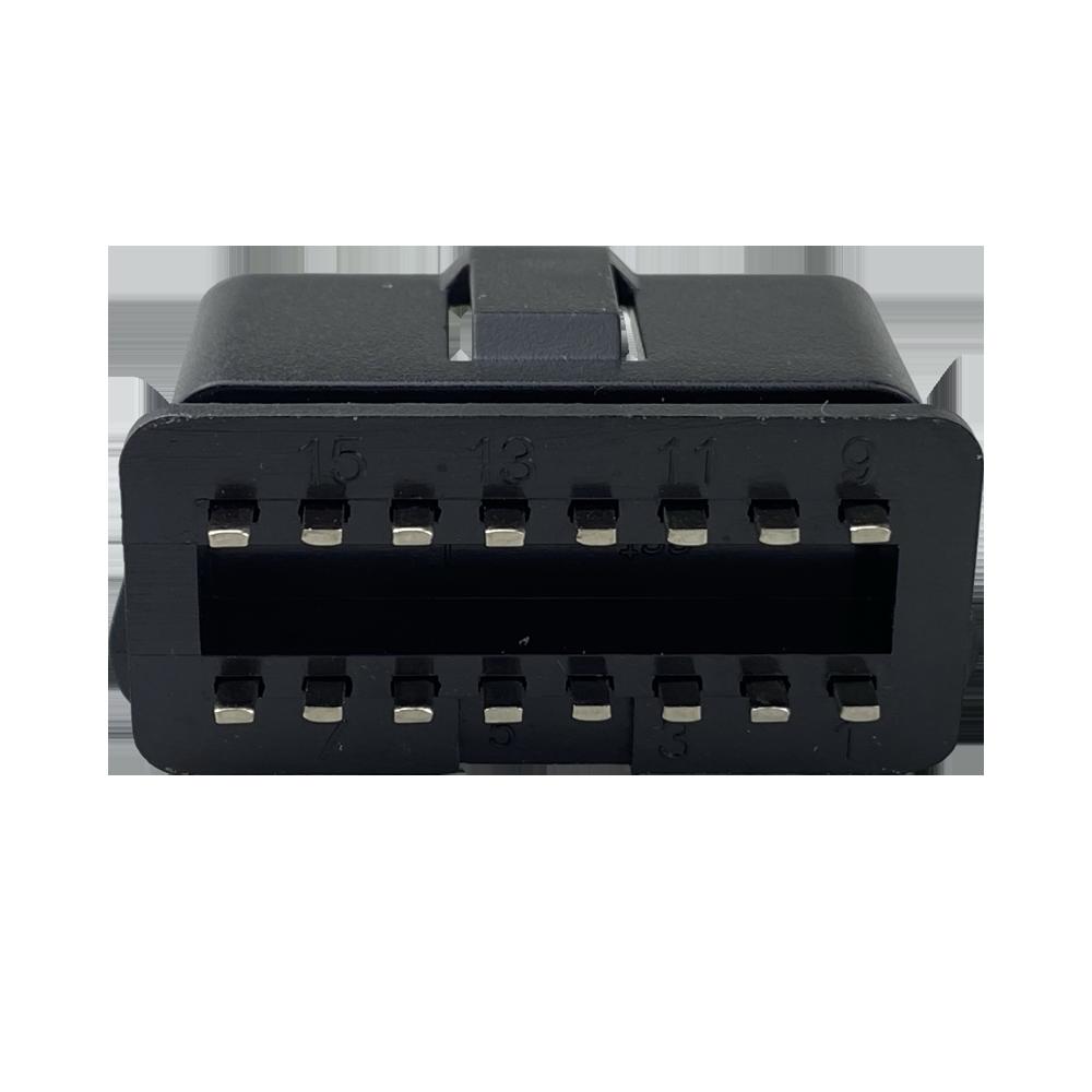 OBD2 16PIN汽車公頭連接線轉接線插頭接口 6