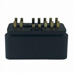 J1962 OBD2 14Pin 16針公頭連接器