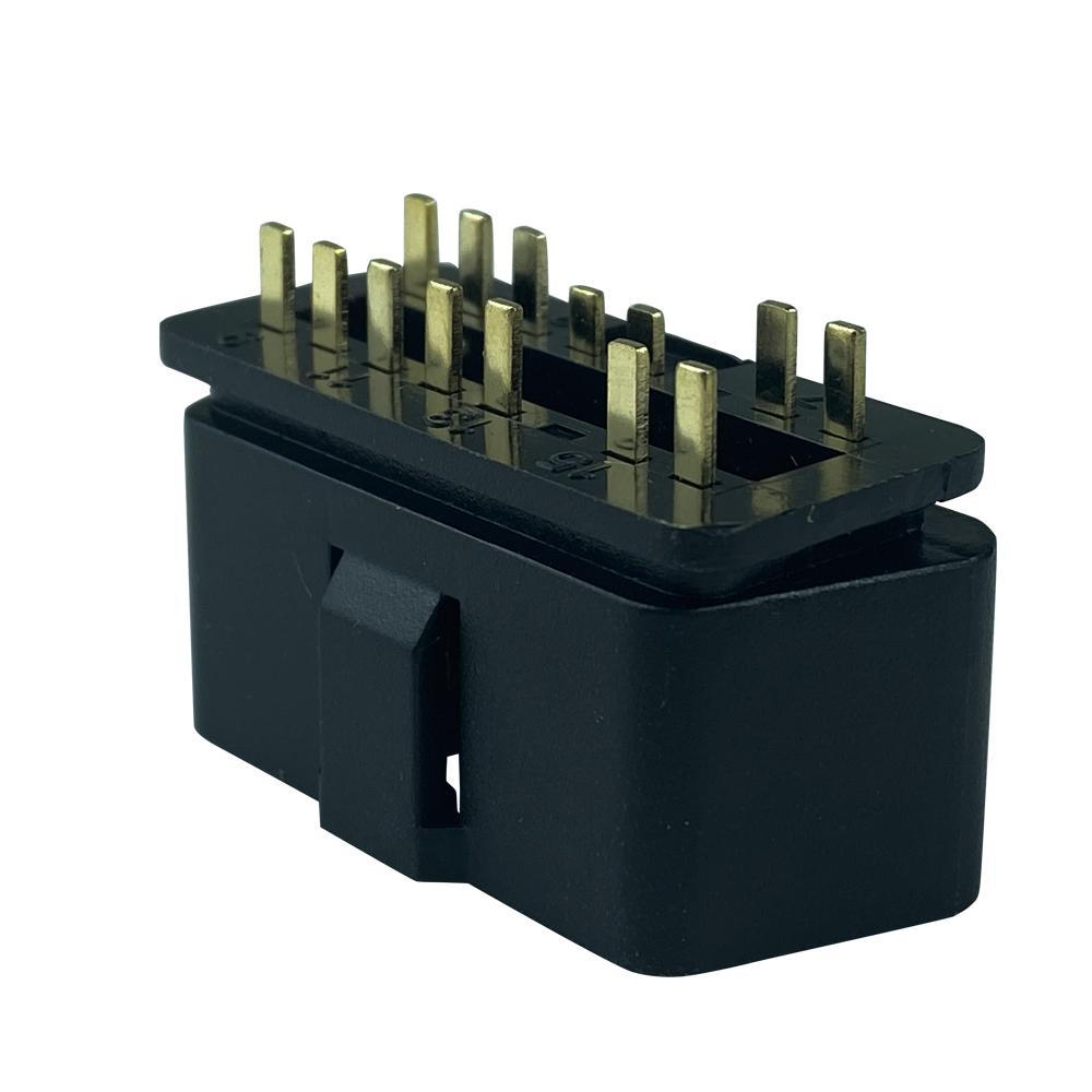 J1962 OBD2 14Pin 16針公頭連接器 2