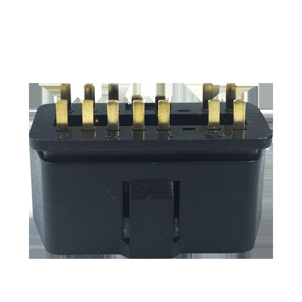 J1962 OBD2 14Pin 16針公頭連接器 3
