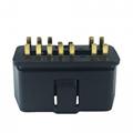 J1962 OBD2 14pin 14 pin male connector
