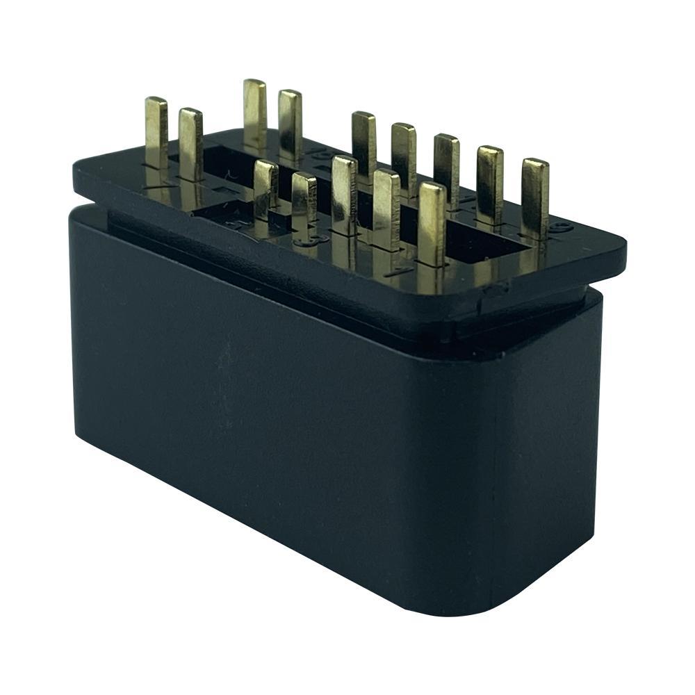 J1962 OBD2 14Pin 16針公頭連接器 6