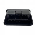 OBDII 16 pin male connector OBDII 12V 24 V truck diagnostic interface plug