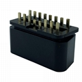 J1962 automobile connector plug OBD2 16p male 12V straight pin