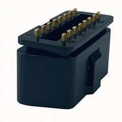 OBDii16PIN連接器公頭診斷線接頭J1962 汽車檢測