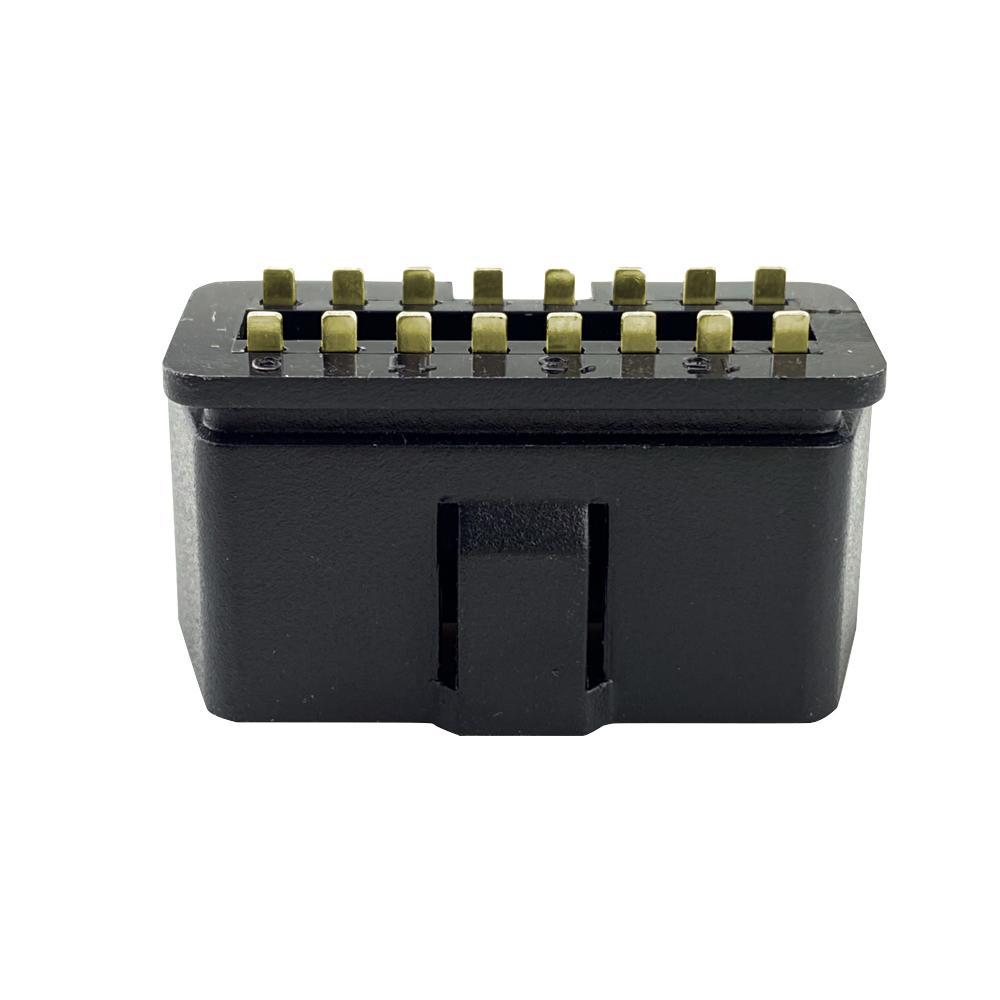 OBD2 16 針 公頭鍍金轉接頭連接器OBD插頭可定製 2