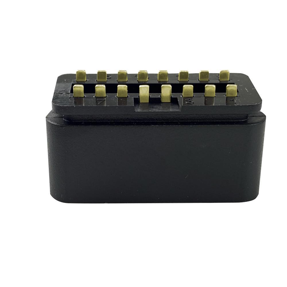 OBD2 16 針 公頭鍍金轉接頭連接器OBD插頭可定製 3