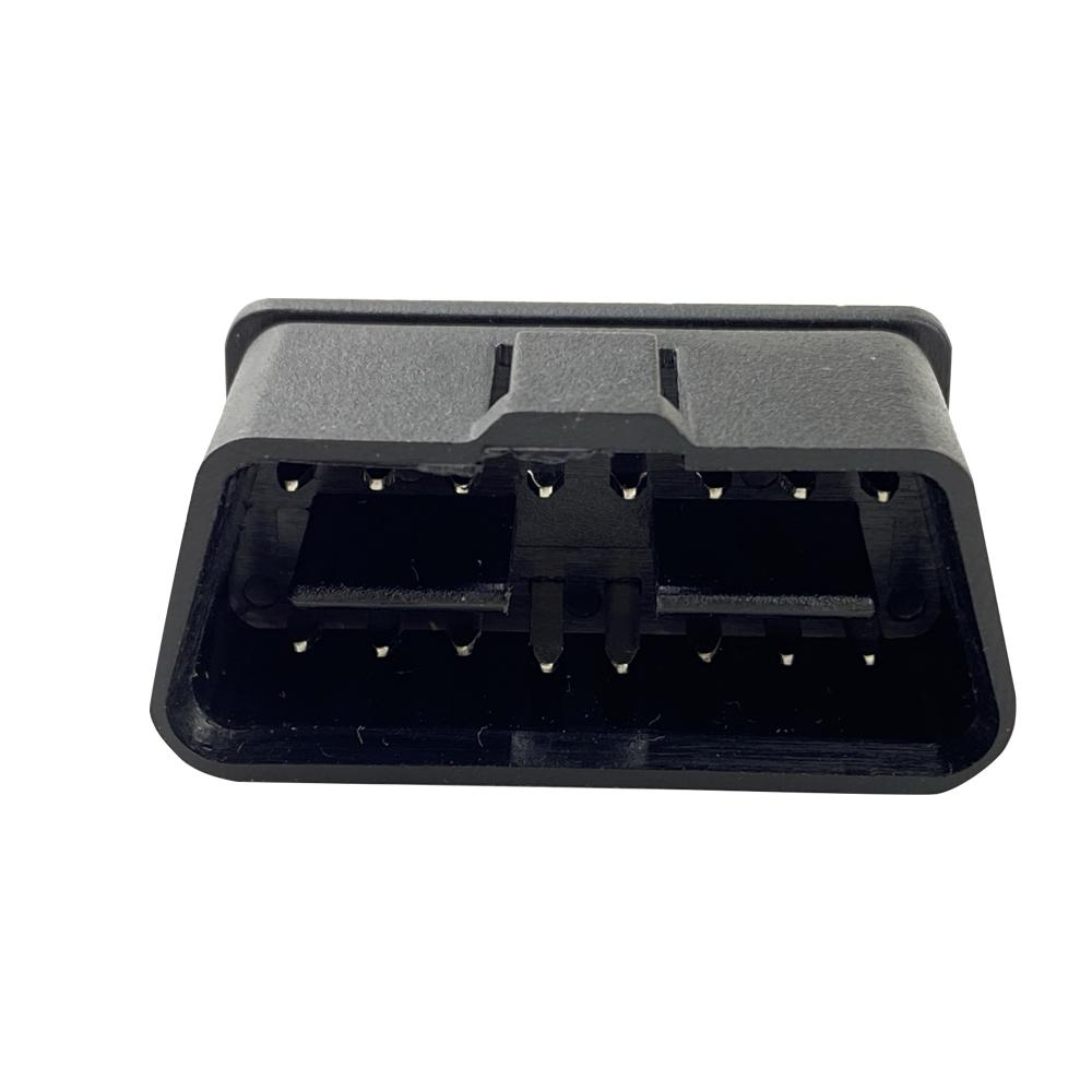 OBD2 16 針 公頭鍍金轉接頭連接器OBD插頭可定製 5