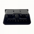 J1962 tinned double bend male connector 16pin OBDII plug