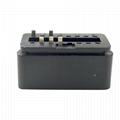 J1962 automobile OBDII 5 pin male automobile diagnostic line connector