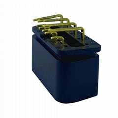 J1962 公頭90°OBDII 10針汽車故障診斷儀插頭