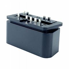 J1962 汽車連接器插頭 OBD2 9PIN 公頭12V直