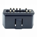 J1962 automobile connector plug OBD2 9pin male 12V straight pin interface