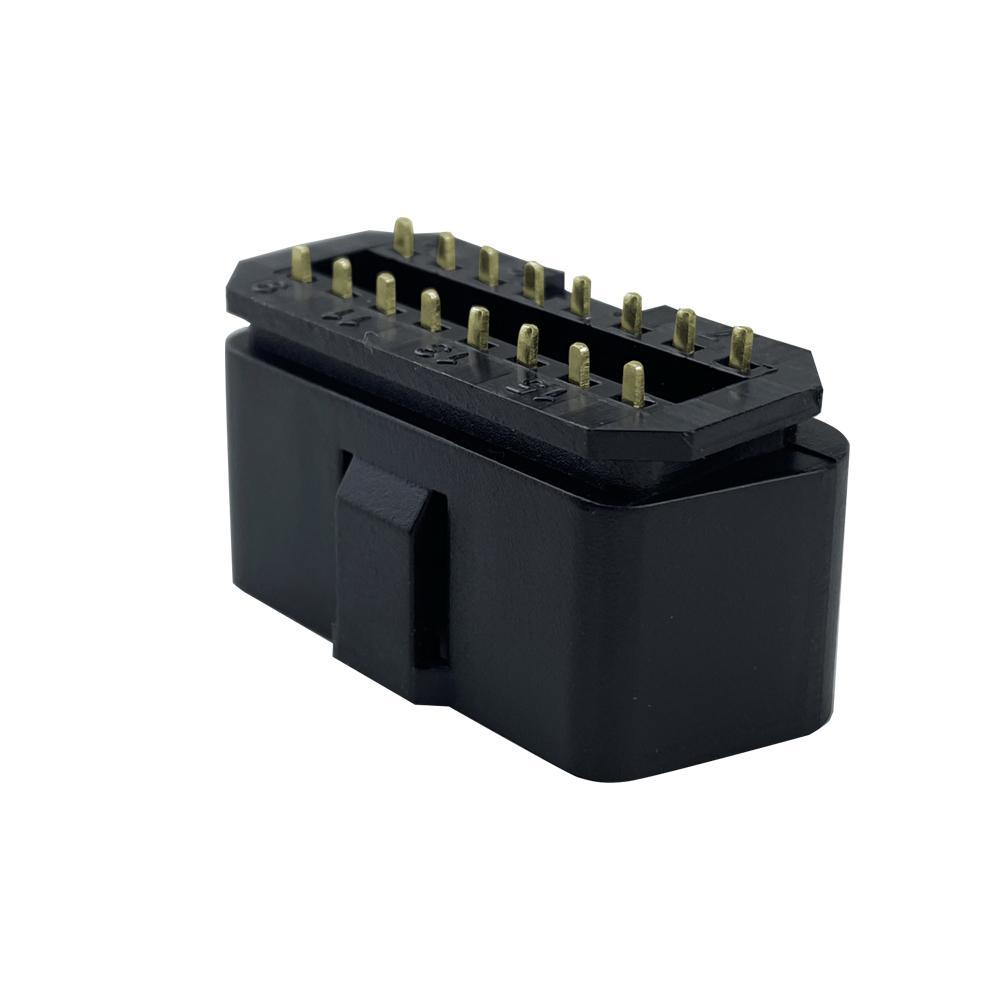 汽車OBDii16PIN連接器公頭汽車OBDii16PIN連接器公頭通用J1962故障診斷儀插頭 3
