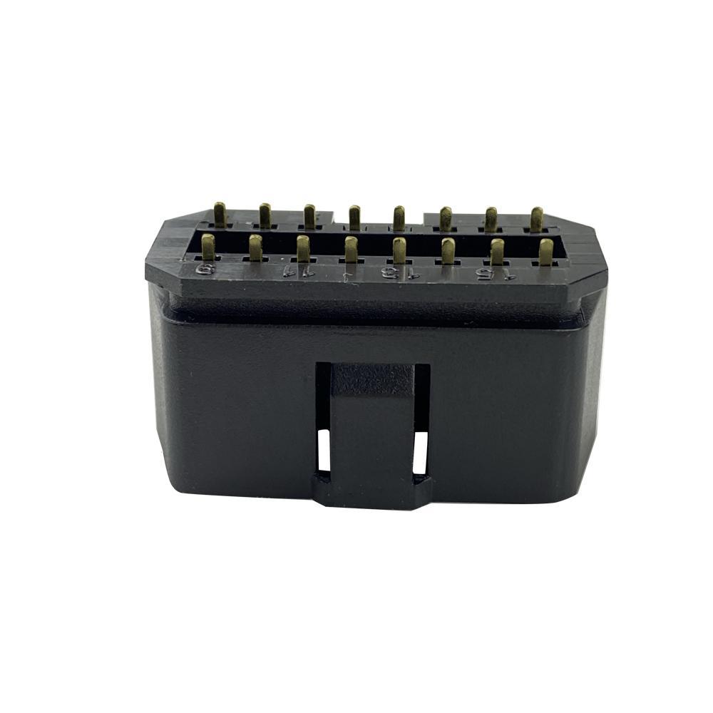 汽車OBDii16PIN連接器公頭汽車OBDii16PIN連接器公頭通用J1962故障診斷儀插頭 4