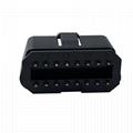 汽車OBDii16PIN連接器公頭汽車OBDii16PIN連接器公頭通用J1962故障診斷儀插頭 6