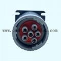 9針陽螺紋至陰螺紋適配器J1939類型 2