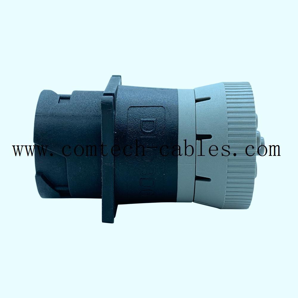 9針陽螺紋至陰螺紋適配器J1939類型 3