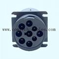 9針陽螺紋至陰螺紋適配器J1939類型 4