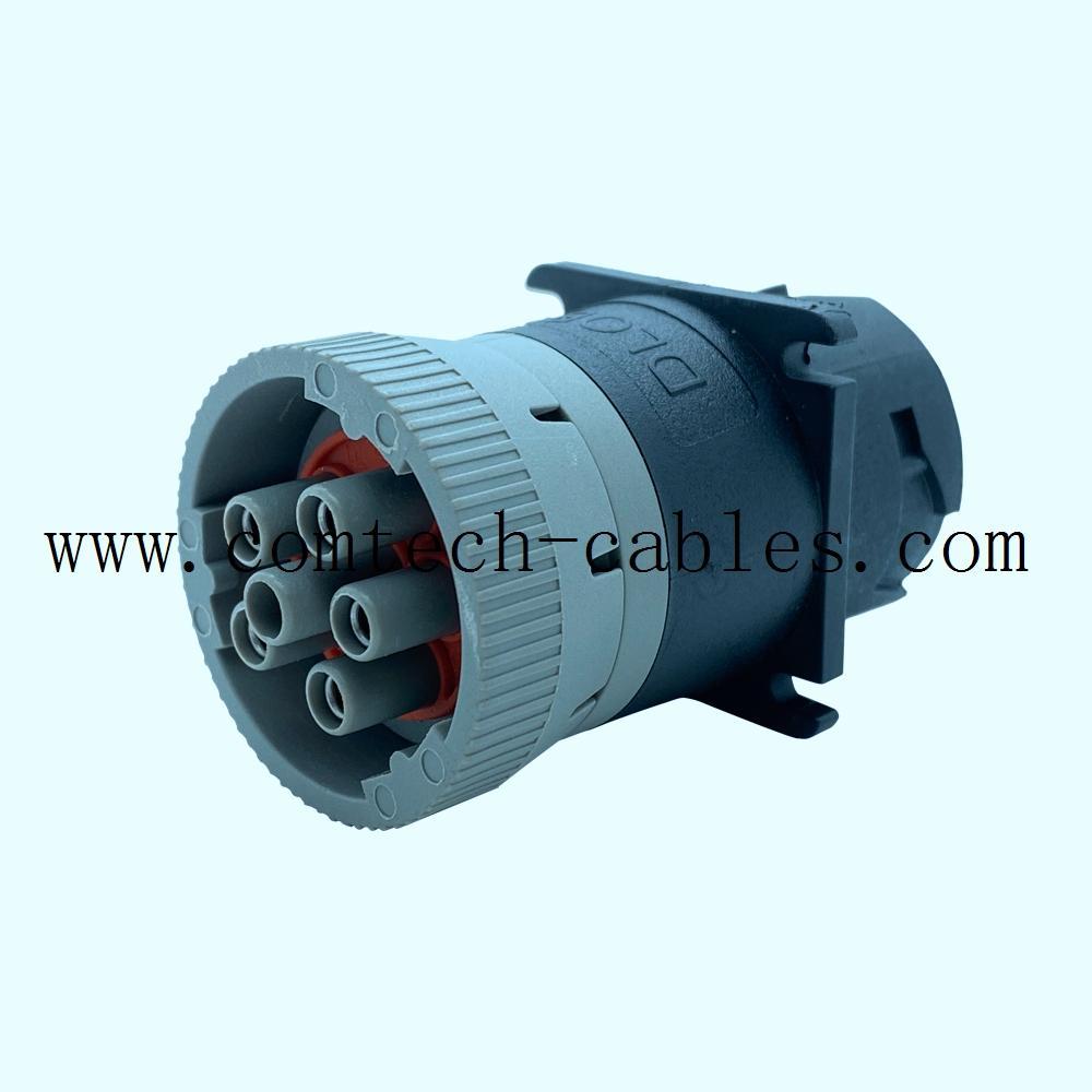 9針陽螺紋至陰螺紋適配器J1939類型 6