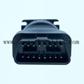 9 Pin Deutsch Connector J1939 Female to OBDII OBD2 Female adapter