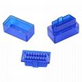 OBD2 blue transparent  Encloscer
