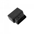 Obd gold-plated male obd2 automobile tester with 327 Encloscre locator OBD plug  4