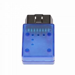 Obd patch cord housing wholesale automotive diagnostic instrument cable OBD blue