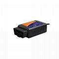 USB V1.5 OBD2 automobile fault scanner OBDII computer detector