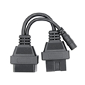 12PIN TO 16PIN OBD car transfer line is suitable for Mitsubishi Japanese old car