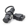 30PIN TO 16PIN OBD2 car transfer line is suitable for IVECO old car truck line