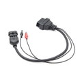 The 3PIN TO 16PIN OBD car changeover line is suitable for the old Italian car ch