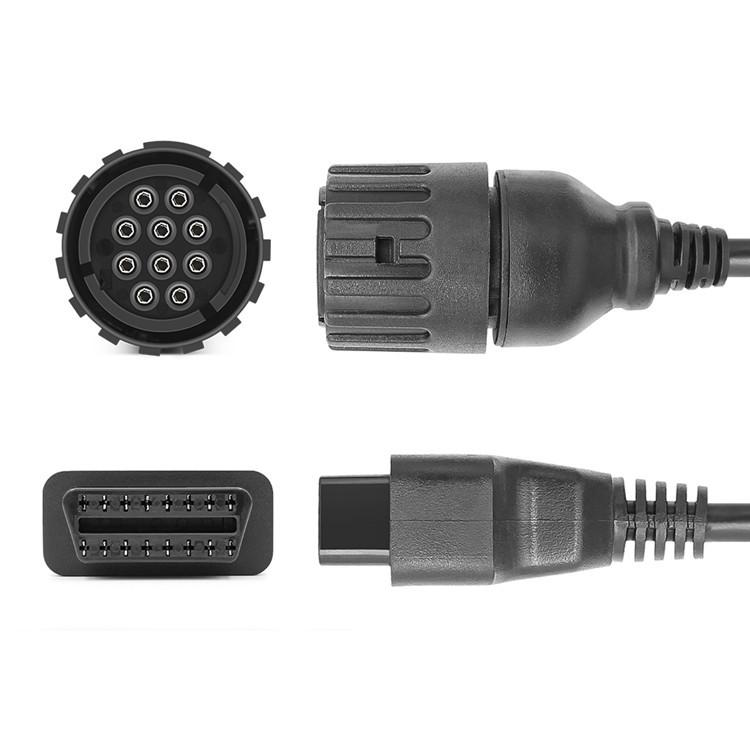 ICOM D Cable 10PIN 1.5 m full core is suitable for motorcycle OBD patch cord