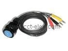BENZ  TO BANANA 4pin CABLE