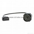 BMW 20P TO OBDII 16P F CABLE