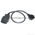 J1962 OBD-II 16P M TO F CABLE