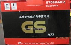 保時捷918汽車專用蓄電池統一電池GS57069