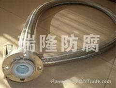 不鏽鋼編織四氟軟管